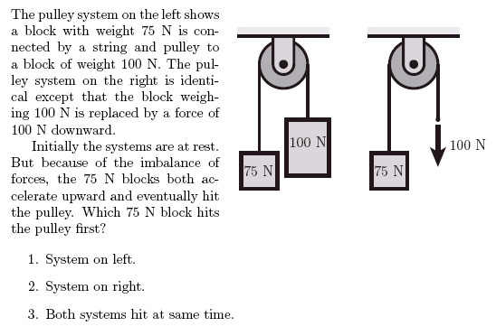 Multiple Pulley Tension Problems : Pulley problems ? spumone